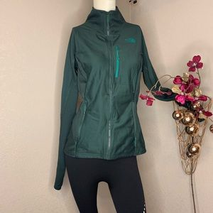 The North Face Hunter Green Thermal Jacket • Sz S